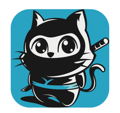 Logo Ninja Kitty Music Library